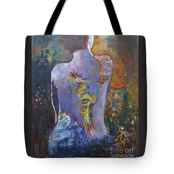 With A Little Help From My Friends Tote Bag by Diana Bursztein