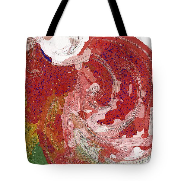 Tote Bag featuring the digital art With A Swirl Of Skirt by Roy Erickson