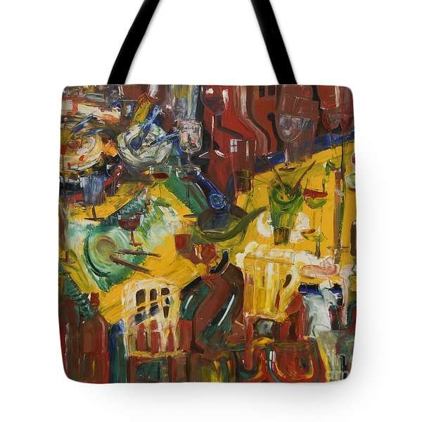With Coffee To Follow Tote Bag