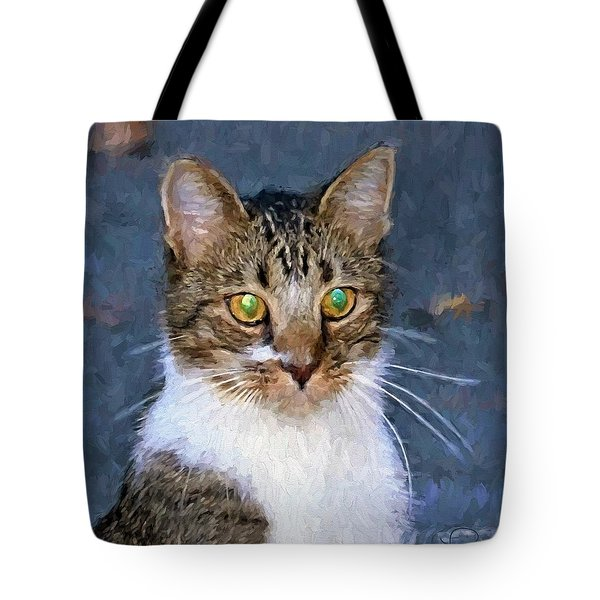 With Eyes On Tote Bag