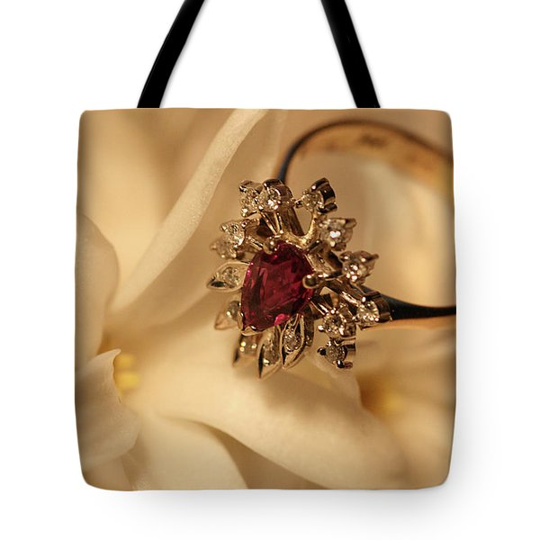 Tote Bag featuring the photograph With Love by Joy Watson