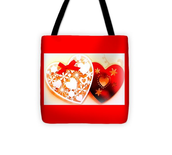 ...with Love Tote Bag by The Creative Minds Art and Photography