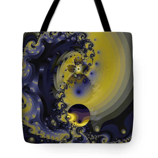 Within A Wave Tote Bag by Elizabeth McTaggart
