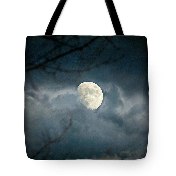 Within Her Misty Veil Tote Bag