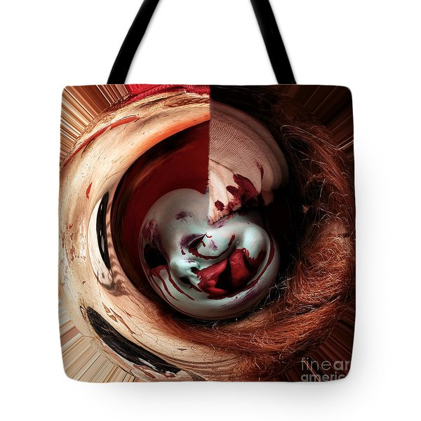 Within Me Tote Bag by John Rizzuto