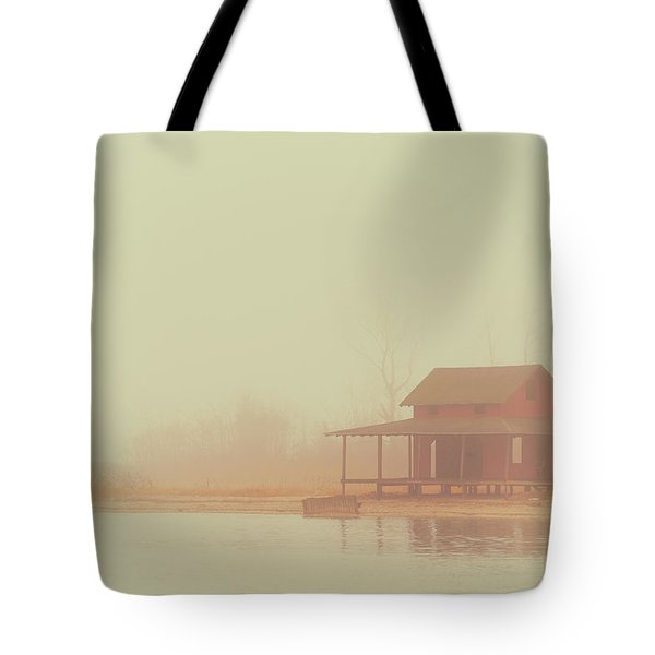 Within The Fog Tote Bag by Karol Livote
