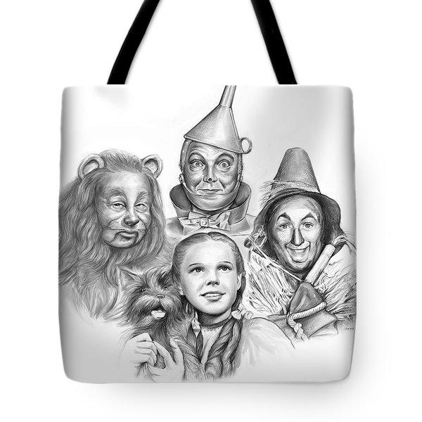 Wizard Of Oz Tote Bag by Greg Joens