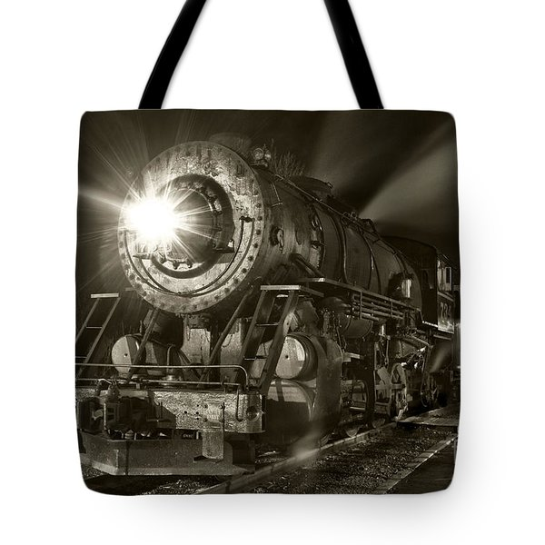 Wmsr Engine 734 At The Frostburg Depot Tote Bag