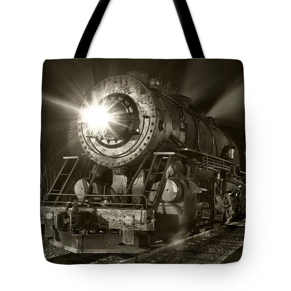 Wmsr Engine 734 At The Frostburg Depot Tote Bag