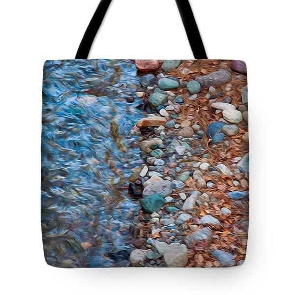 Wolf Creek Downstream Tote Bag by Omaste Witkowski