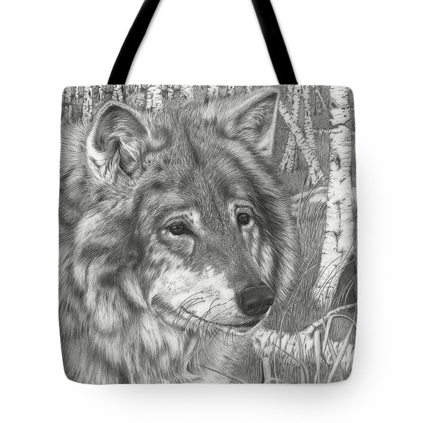 Wolf Gaze Tote Bag