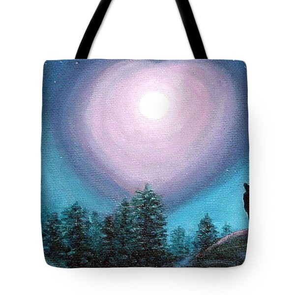 Wolf Heart Song Tote Bag