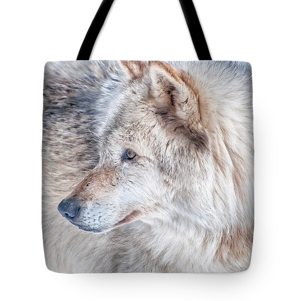 Tote Bag featuring the photograph Wolf In Disguise by Bianca Nadeau