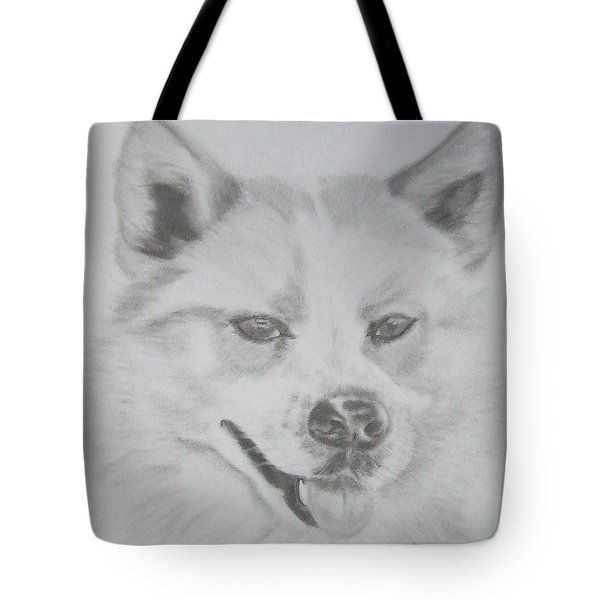 Wolf The Husky Tote Bag