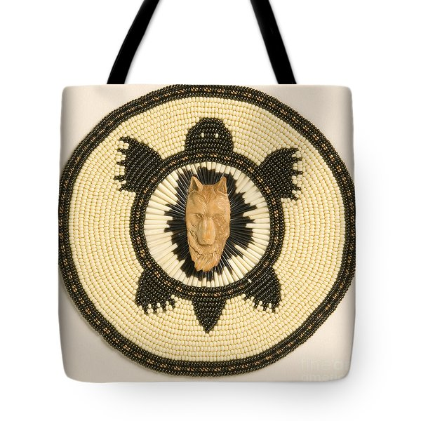 Wolf Turtle Tote Bag