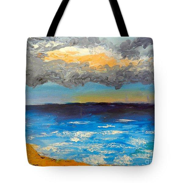 Wollongong Beach Tote Bag by Pamela  Meredith
