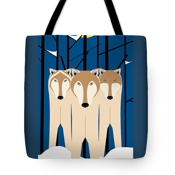Wolves Tote Bag