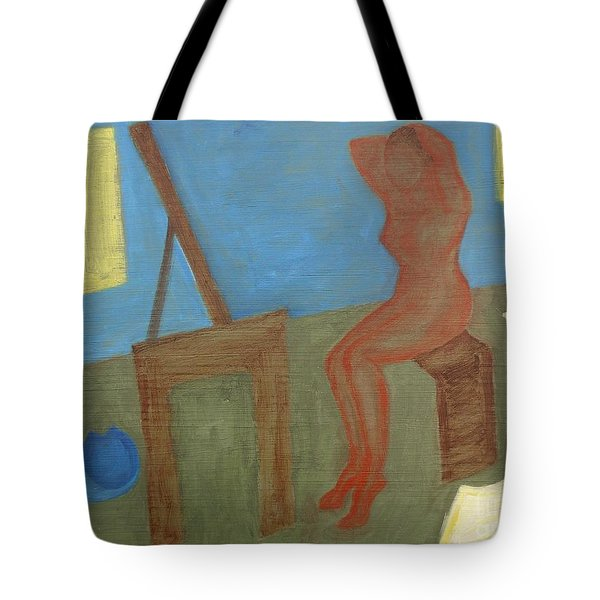 Woman After Bathing Tote Bag by Patrick J Murphy