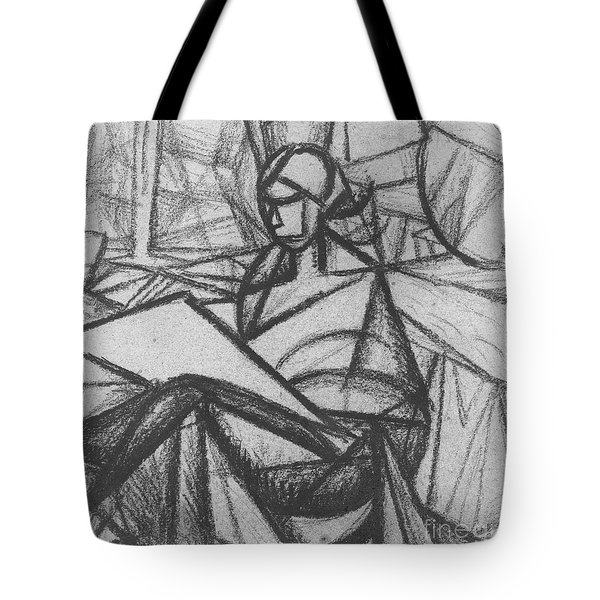 Woman Tote Bag by Alexander Bogomazov