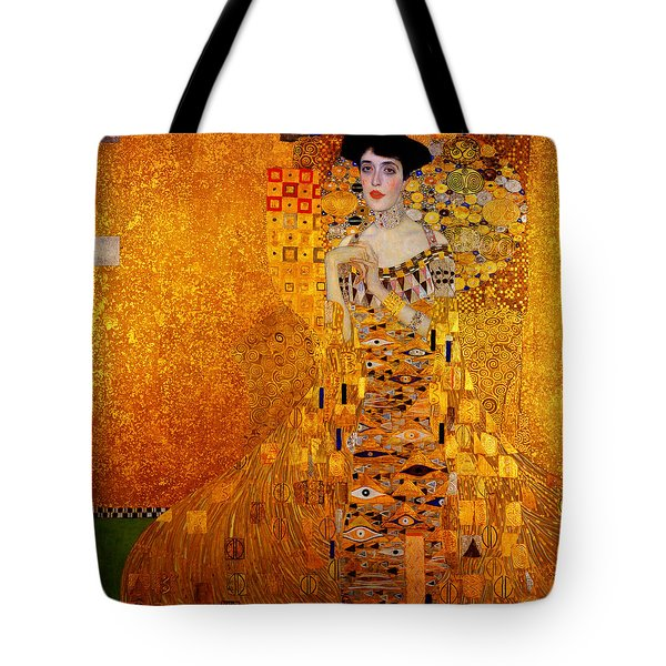 Tote Bag featuring the painting Woman by Gustav Klimt