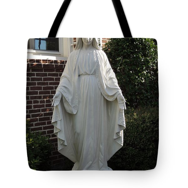 Tote Bag featuring the photograph Woman Of Faith by Aaron Martens
