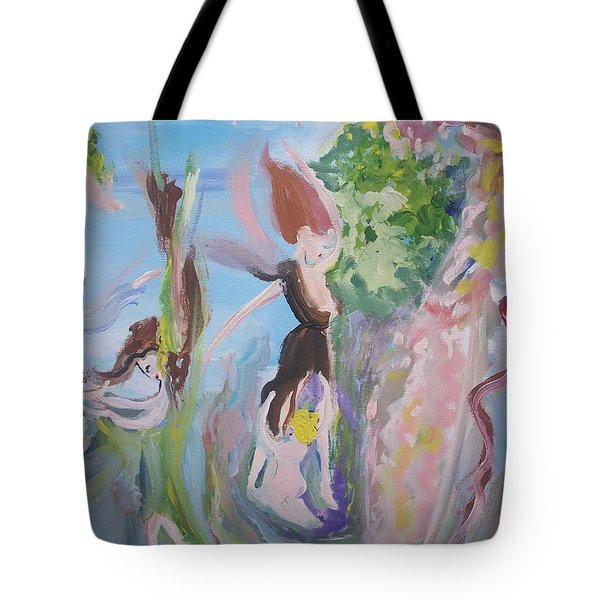Woman The Nurturer Tote Bag