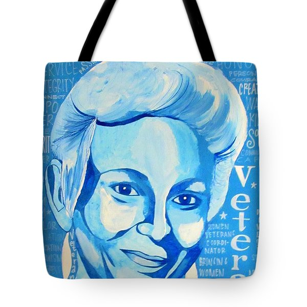 Woman Veteran Gabe Tote Bag