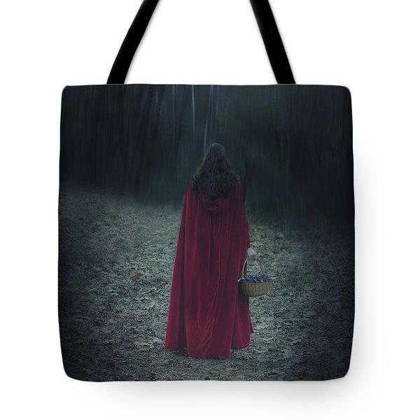Woman With Basket Tote Bag by Joana Kruse