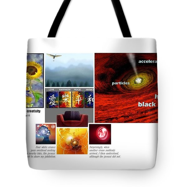 Womb With A View Tote Bag