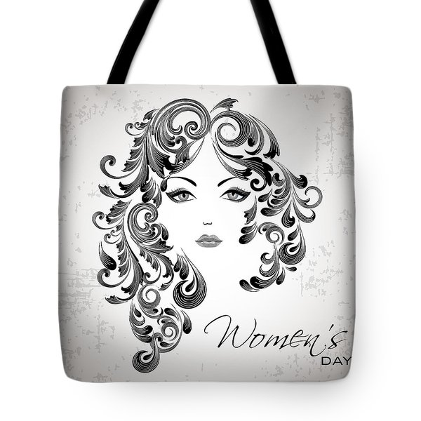 Women's Day Usa Tote Bag by Stanley Mathis
