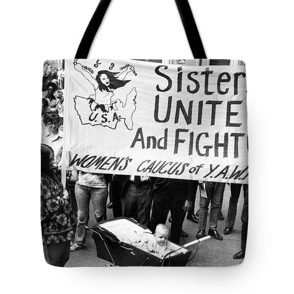 Women's Liberation Gathering Tote Bag