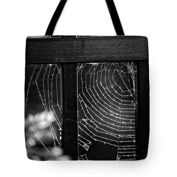 Wonder Web Tote Bag by Carrie Ann Grippo-Pike