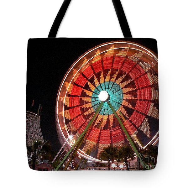 Wonder Wheel - Slow Shutter Tote Bag