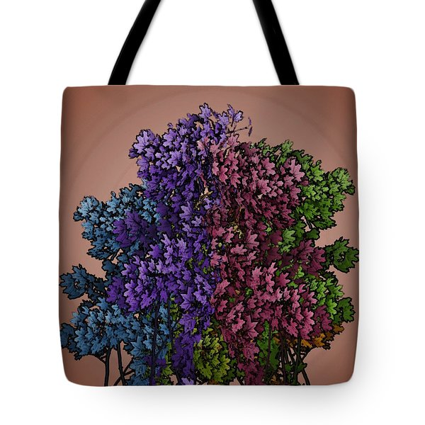 Wonderful Colors 1 Tote Bag by Pepita Selles