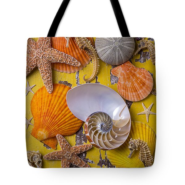 Wonderful Sea Life Tote Bag