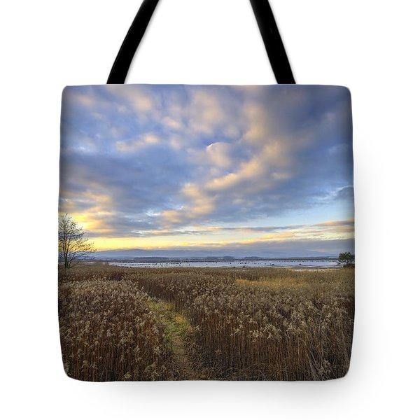 Wonderful Sunset Tote Bag