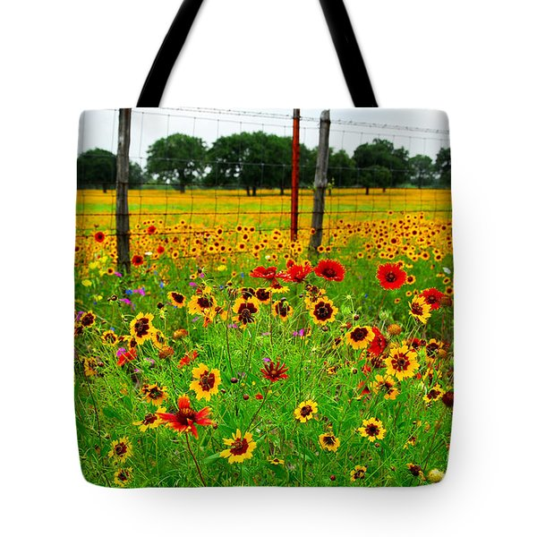 Wonderful Wildflowers Tote Bag