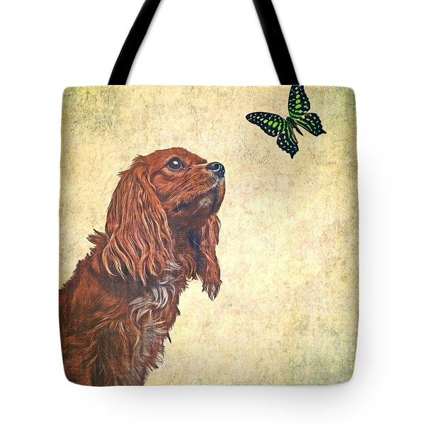 Wonders Of Nature Tote Bag by Edward Fielding