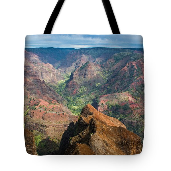 Wonders Of Waimea Tote Bag