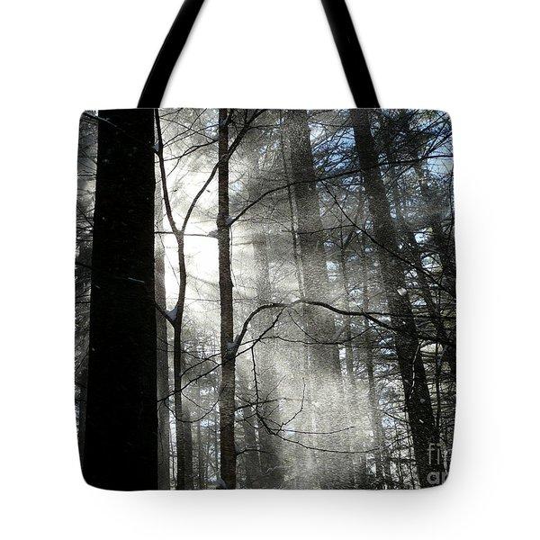 Wondrous Light Tote Bag by Avis  Noelle
