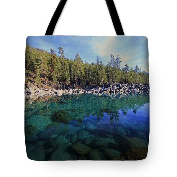 Tote Bag featuring the photograph Wondrous Waters by Sean Sarsfield