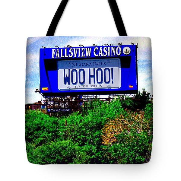 Woo Hoo Tote Bag by Nina Silver