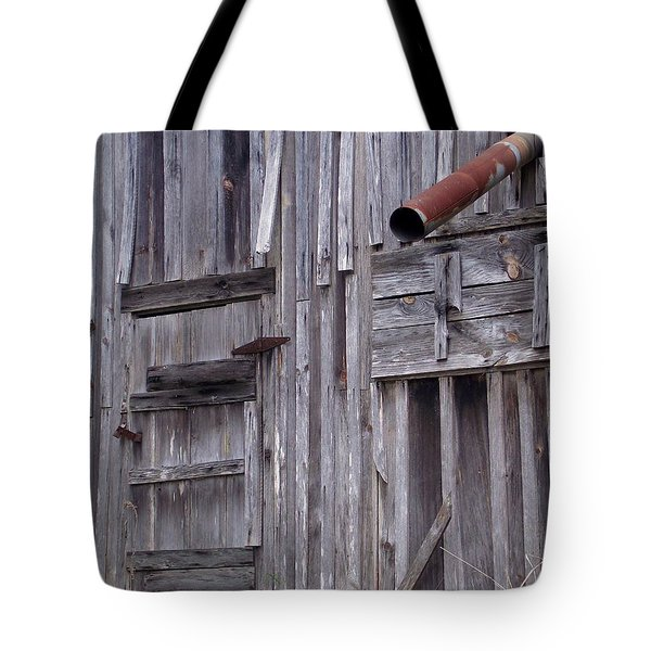 Wood And Rust Tote Bag by John Glass