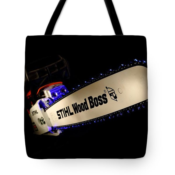 Wood Boss Tote Bag