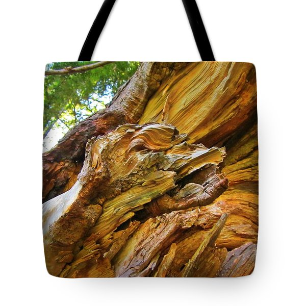Wood Creature Tote Bag by John Malone