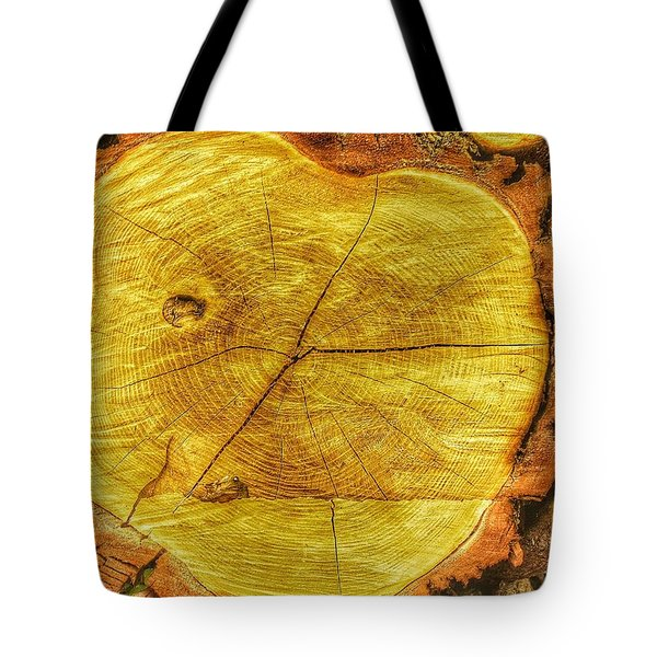 Wood Tote Bag by Daniel Precht