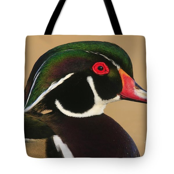 Wood Duck Color Tote Bag