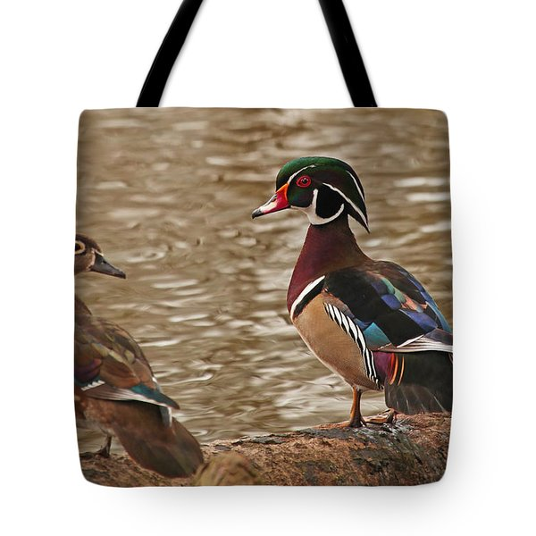 Wood Duck Photo Tote Bag