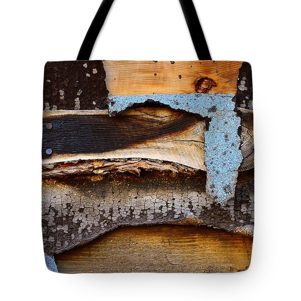 Wood Eagle Totem Tote Bag by Lauren Leigh Hunter Fine Art Photography