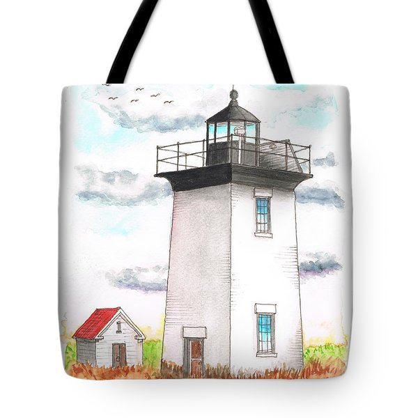 Wood End Lighthouse - Massachusetts Tote Bag